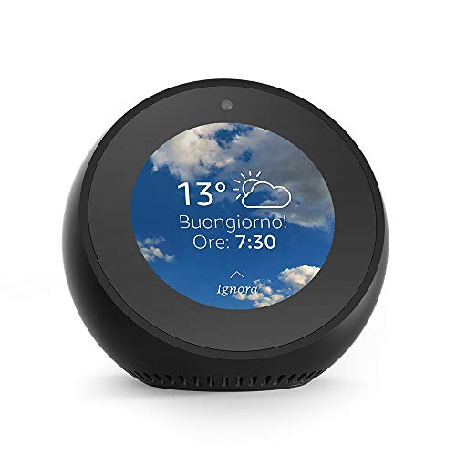 Amazon Echo Spot - Un altoparlante intelligente dotato di schermo, con Alexa...