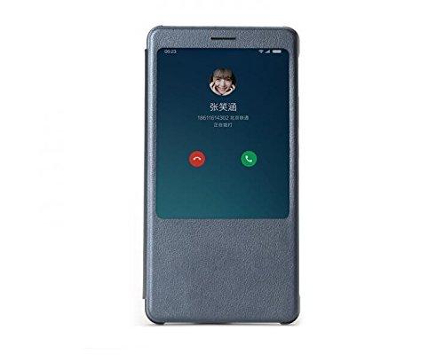 ikazen Smart S View Window Flip Cover for Xiaomi Redmi Note 4 (Black) - sensor working