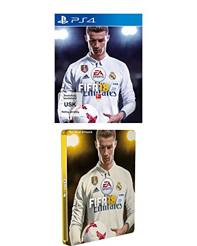 FIFA 18 - Standard Edition - Steelbook Edition (exkl. bei Amazon.de) - [PlayStation 4]