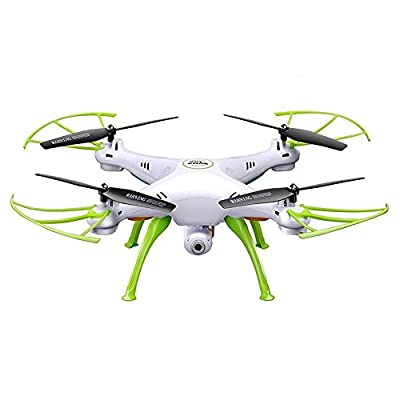 Syma X5HW WIFI FPV Drone Live Video with 2.0 MP HD Camera RC Headless Mode Quadcopter Gift Toys- White