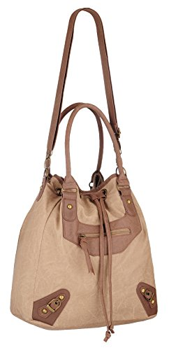 Eye Catch - Sac a main duffle bag en simili cuir