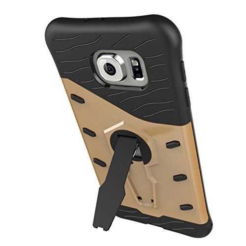 Vandot Etui Transparent Case pour Samsung Galaxy S7 Edge Coque de Protection en TPU Gel Invisible avec Absorption de Chocs Etui TPU Silicone Case Ultra Slim Thin Hull pour Samsung Galaxy S7 Edge Soupl Armure-Or