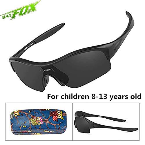 QXYJZS Fahrradbrille Kinder Sonnenbrillen Sportbrillen Sonnenbrillen Für Kinder Kinder Jungen Mädchen Jugend Super Komfortable Sicherheit Sonnenbrillen