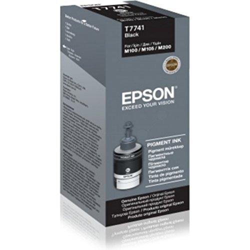 Preisvergleich Produktbild Epson original - Epson EcoTank ET-4550 (T7741 / C13T77414A) - Tintenpatrone schwarz - 6.000 Seiten - 140ml