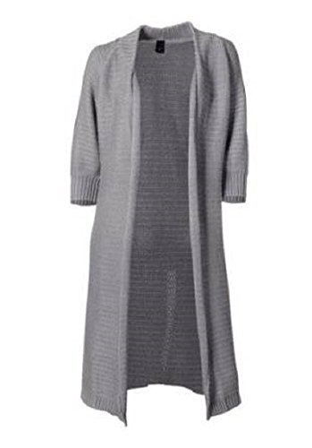 attrayant Veste tricotée de BC en gris mélange Melange Gris
