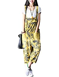 ce0fb2609fe Amazon.co.uk  Yellow - Jumpsuits   Playsuits   Women  Clothing