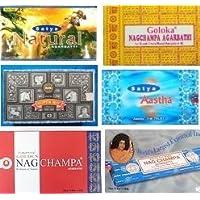 Räucherstäbchen 6 Vorratspacks Satya Nag Champa Goloka Golden 6 Nagchampa Düfte preisvergleich bei billige-tabletten.eu