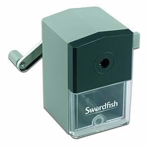 Swordfish 40100 Ikon Desktop Manual Pencil Sharpener, 8 mm