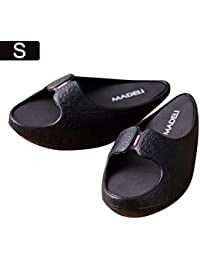 Ecisi Moda Gimnasio Plataformas Zapatillas Zapatillas Deportivas para Mujer Body Building Pierna para Adelgazar Zapatos de