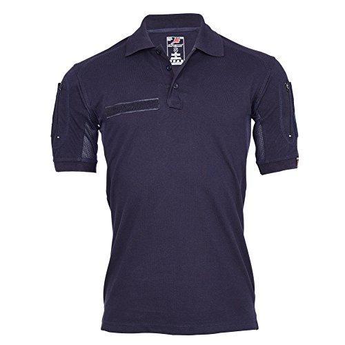 Copytec Copytec Tactical Polo-Shirt Navy Blau Polizei Feuerwehr Berufs Bekleidung Hemd #22403, Größe:S, Farbe:Dunkelblau