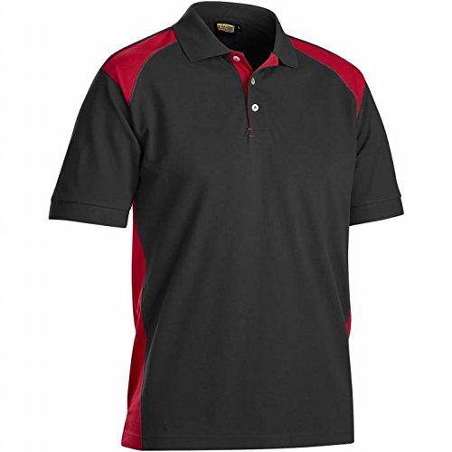 Preisvergleich Produktbild Blakläder 332410509956XXL Polohemd,  Größe XXL schwarz / rot