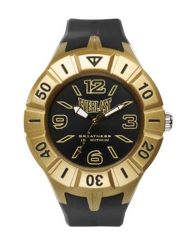 Bernex EV-217-002 - Reloj analógico unisex de plástico Resistente al agua negro