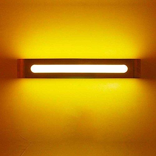 DNSJB Schlafzimmer-Kopfteil-Wand-Lampen-Korridor-Innenbeleuchtung LED-einfache Klotz-Wand-Lampe (größe : 40 * 8cm) -