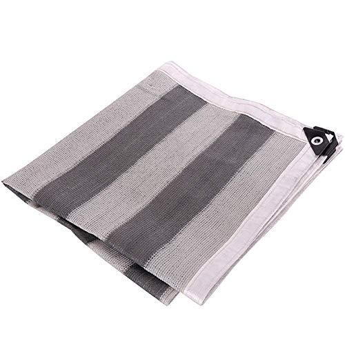 Kzf Verdickung des Metalllochrandes des Außenpolsters, leicht zu lagerndes Polyester, Sonnenschutznetz, Außenschirm,2x4m -