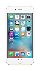 Apple iPhone 6S 64 GB UK SIM-Free Smartphone - Gold (Certified Refurbished)
