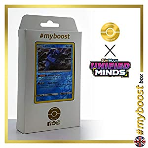 Carracosta 45/236 Holo Reverse - #myboost X Sun & Moon 11 Unified Minds - Box de 10 cartas Pokémon Inglesas