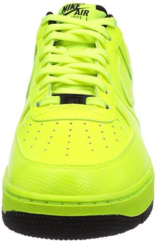 Nike Air Force 1, Baskets mode mixte adulte Jaune (Volt/Black)