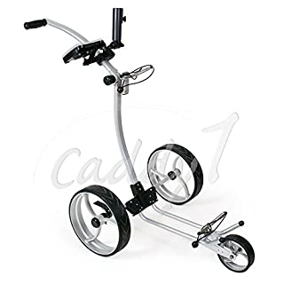 Design Golf Trolley CADDYONE 110 in Silber