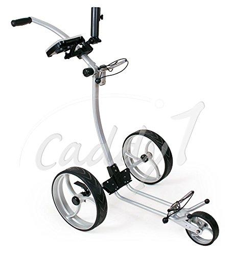 Design Golf Trolley CADDYONE 110 in Silber