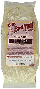 Bob's Red Mill Vital Wheat Gluten Flour 500 g (Pack of 2)
