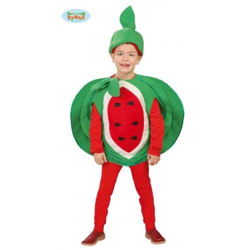 Kostüm von Wassermelone (Größe 4-6 Jahre (Kostüme Kinder Für Wassermelone)
