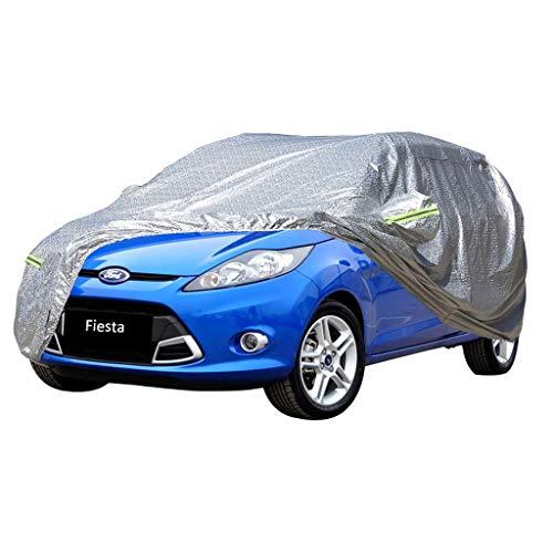 XXHDYR Car Car Cover Indoor und Outdoor Dickes Oxford Tuch Antifouling Sonnenschutz Regen warme Abdeckung für Ford Fiesta Geländewagen SUV-Modelle Autoabdeckung (Size : 2009)