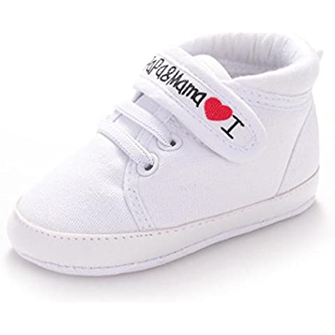 Transer® Baby Infant Kid Boy Girl soft sole Canvas Sneaker Toddler Shoes