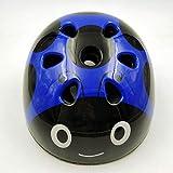 LAIABOR Skate Helm Fahrradhelm Verstellbarer Skateboard,Scooter,Fahrrad,Elektro-Bike,BMX Helm Für Kinder,Blue