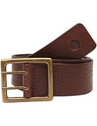 Viari Brown Leather Belt