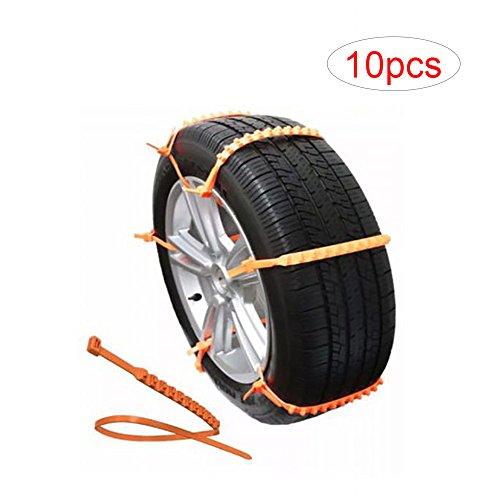e-bestar-10-pz-universale-Snow-anti-skid-rotella-catene-da-neve-ripetutamente-usato-molte-volte