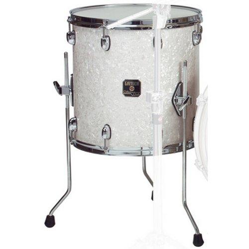 GRETSCH DRUMS RN1-1414SW 35,6cm Drum Set Floor Tom Tom-Satin Weiß (Gretsch Drum Set)