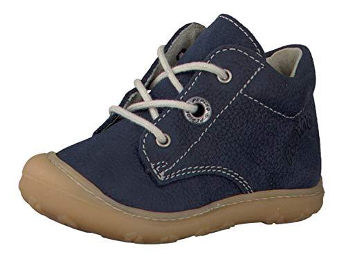 RICOSTA Pepino Unisex - Kinder Stiefel Cory, WMS: Mittel, Kleinkind-er Kinder-Schuhe Klett-Schuhe Spielen Freizeit leger Boots,See,24 EU / 7 UK