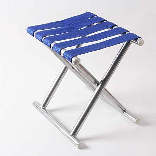 DZH*AA 4 Blue Belt Mazar Eisen Pferd Hocker Tragbare Klappstuhl Angeln Stuhl Outdoor Camping (Futon-sofa-rahmen)