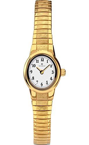 Accurist Femme montre Plaqué or avec bracelet extensible 8166