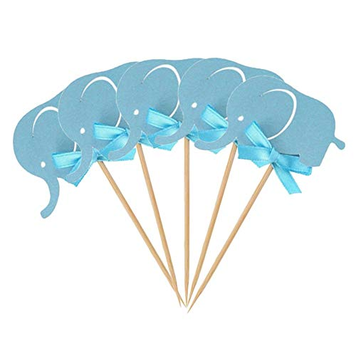 10 Unids/Pack Adorno De Pastel Suministros De Decoración Del Partido Adorables Elefantes...