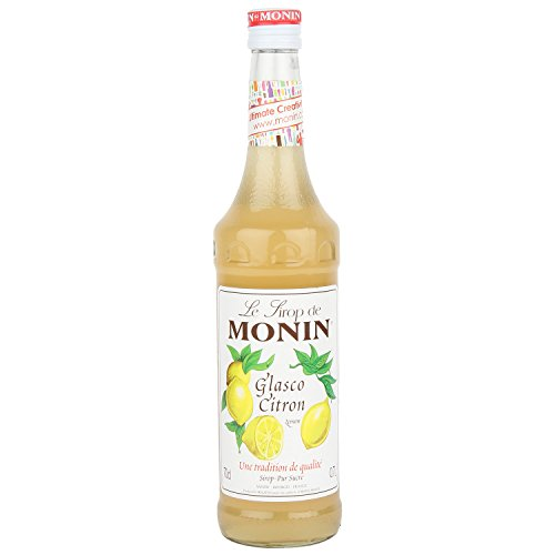 Monin Glasco Citron Syrup Syrups and Cordials