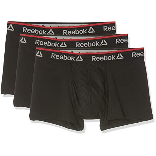 41jNsBkw7oL. SS500  - Reebok Men's Redgrave Boxer Shorts (Pack of 3)