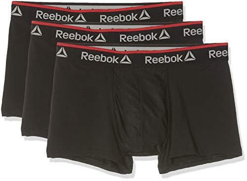 Reebok Herren Redgrave Boxershorts, Schwarz (Black PKA), X-Large (Reebok-boxer-shorts)