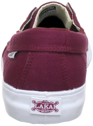 Lakai  CAMBY, basket homme Rouge - rojo - Rot (PORT CANVAS F0600)