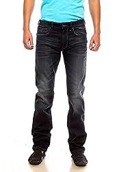 Pepe Jeans Mens Black Slim Fit Jeans (Vapour Fit) (30)