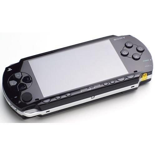 PlayStation Portable - PSP Konsole Slim & Lite, black + Assassin\'s Creed: Bloodlines