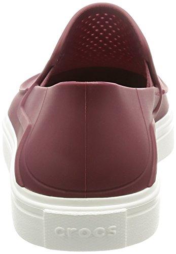 Crocs Citlnrkaslpw, Sneaker a Collo Basso Donna Marrone (Garnet)