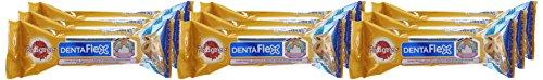 Pedigree DentaFlex für mittelgroße Hunde (10-25kg), Zahnpflege-Snack mit Huhn, 9 Packungen (9 x 80 g) - 2
