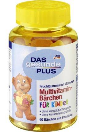 DAS gesunde PLUS Multivitamin-Bärchen Fruchtgummis, 60 St