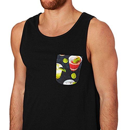 DC Vests - DC Griffin Jet Tank - Black Cocktail. Multicolour
