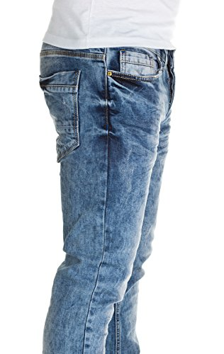 Man1x Jeans Slim Fit Jeans Blue