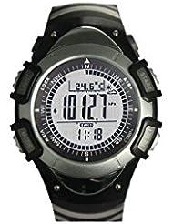 Sunroad Outdoor Horloge de la collection, Black, One Size, fr8204a