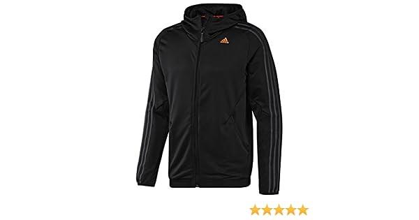 X16633 Adidas CLIMA365 Full Zip Hoodie Black M: