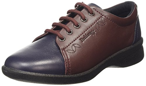 Padders Refresh 638N, Richelieu Femme Multicolore (Navy Bordeaux 27)