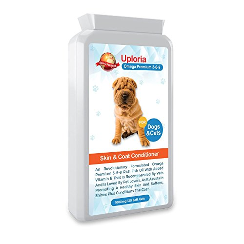 Skin Supplements For Dogs With Itchy Skin| Omega Fish Oil Capsules For Dogs & Cats Helps Promotes Healthy Skin And Coat |Supporting Healthy Heart| Helps With Inflammation Bowel Disease | Reduces Joint Inflammation And Boosts Immune System Function | UK Manufactured…